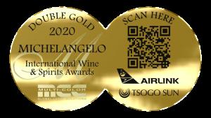 Michelangelo International Wine & Spirits Awards 2020 winners double gold medal