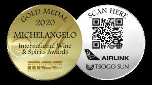 Michelangelo International Wine & Spirits Awards 2020 winners gold medal
